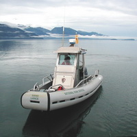 National Park Service research vessel Sandlance